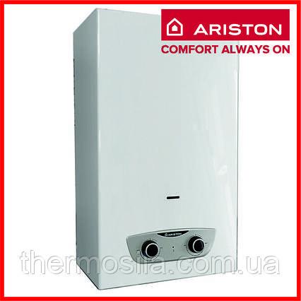 Газовий проточний водонагрівач (колонка) з відкритою камерою ARISTON FAST R ONM 10 NG RU