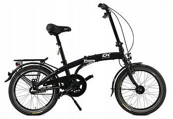 Складний алюмінієвий велосипед Cossack 20 black Польща