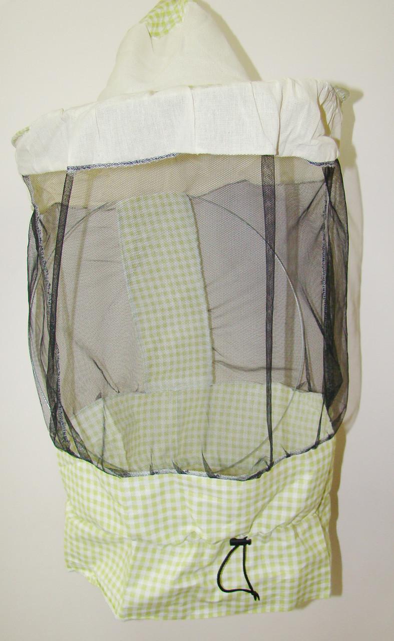 Маска бджоляра з лицьової сіткою по колу (ЗМ)