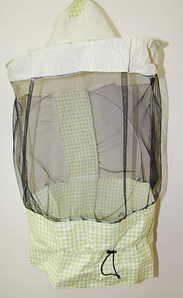 Маска бджоляра з лицьової сіткою по колу (ЗМ), фото 2