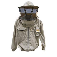 """Куртка пчеловода на молнии, с защитной маской """"Lyson"""", р-р"""