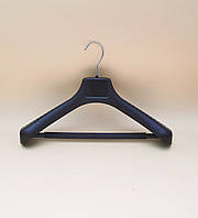 Вішак - плечики з перекладиною та протиковзаючою поролоновою губкою для верхнього одягу, костюмів, шкіри