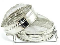 Фильтр для меда, двухсекционный d=150 сферический (нерж. сталь)