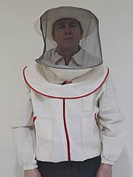 Куртка пчеловода (хлопок) с маской, размер