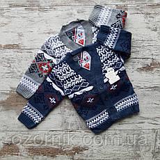 Оптом Детская Вязанная Кофта Пуловер Мальчики 1-3 лет Турция
