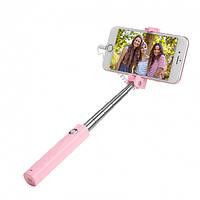 Монопод (селфи палка) Hoco K8 Starry mini c Lightning Pink