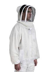 Куртка пчеловода, тройная защита, вентиляция, евромаска, размер XL, Сербия