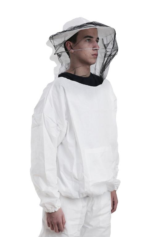 Куртка бджоляра з маскою, бавовна 100%, розмір М, Сербія
