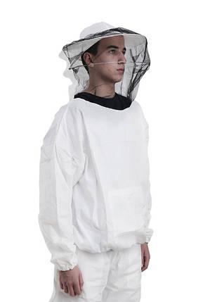 Куртка пчеловода с маской, хлопок 100%, размер М, Сербия, фото 2