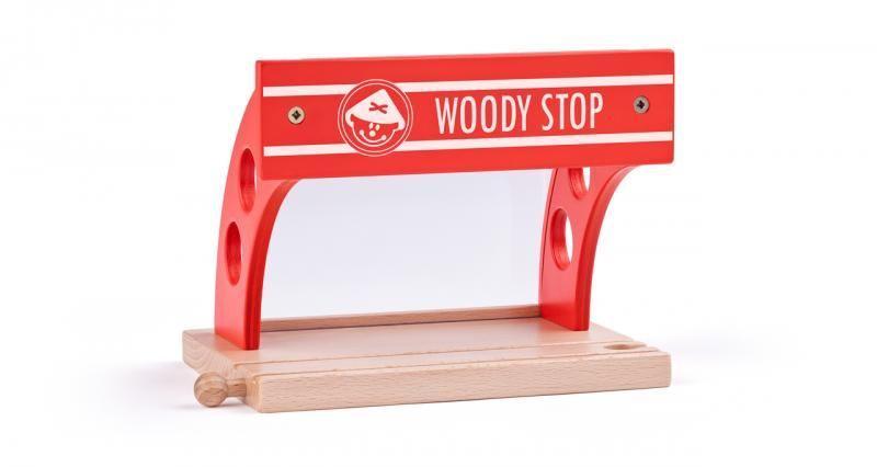 Вокзал для деревянных дорог фирмы Woody
