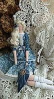 Кукла ручной работы / Тильда / текстильная кукла / Интерьерная кукла / Праздничный декор