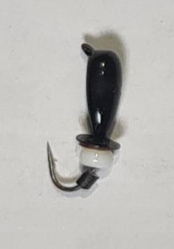 Мормышка вольфрамовая Salmo LJ Нимфа 815030-27 c ушком и бисером, фото 2