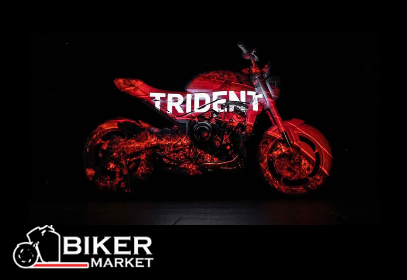 Triumph представили новую модель Trident