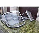 Ветровое стекло Днепр (Элит А) материал АКРИЛ Dnepr Elit K, фото 2