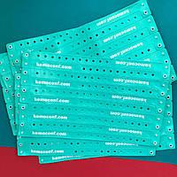 Браслеты виниловые L-тип 16 мм для наших клиентов kemoconf