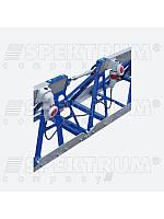 Рейка вибрационная РВ-04 (секция боковая с лебедкой)