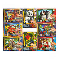 "Раскраска картина по номерам ""Danko Toys"", 32х23см. KN-01-01"