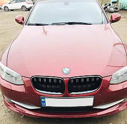 Решетка радиатора BMW E92 ноздри (10-13) стиль M3 (черный глянц)