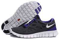 Кроссовки мужские беговые Nike Free Run Plus 2 (найк фри ран)