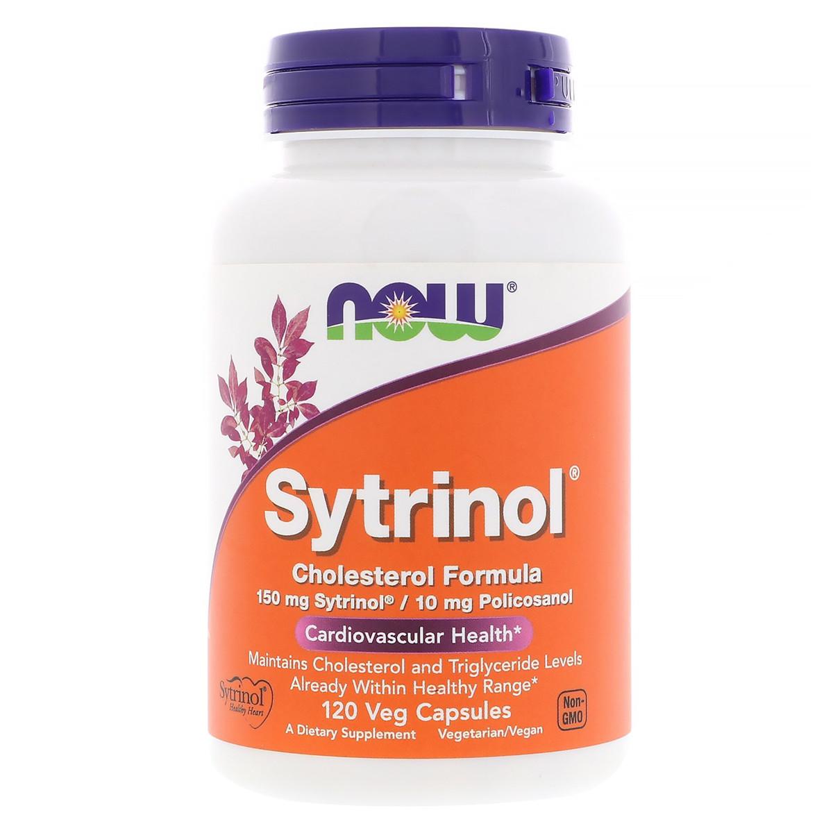 Фитостеролы для Поддержания Уровня Холестерина, Sytrinol, Now Foods, 120 гелевых капсул