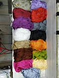 Однотонные шторы нити без люрекса в наличии размер 3Х3 м. Разные цвета, фото 3