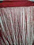 Однотонные шторы нити без люрекса в наличии размер 3Х3 м. Разные цвета, фото 2