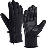 Перчатки лыжные утепленные до -30C°ветрозащитные и влагозащитные Golov.Ejoy, фото 1