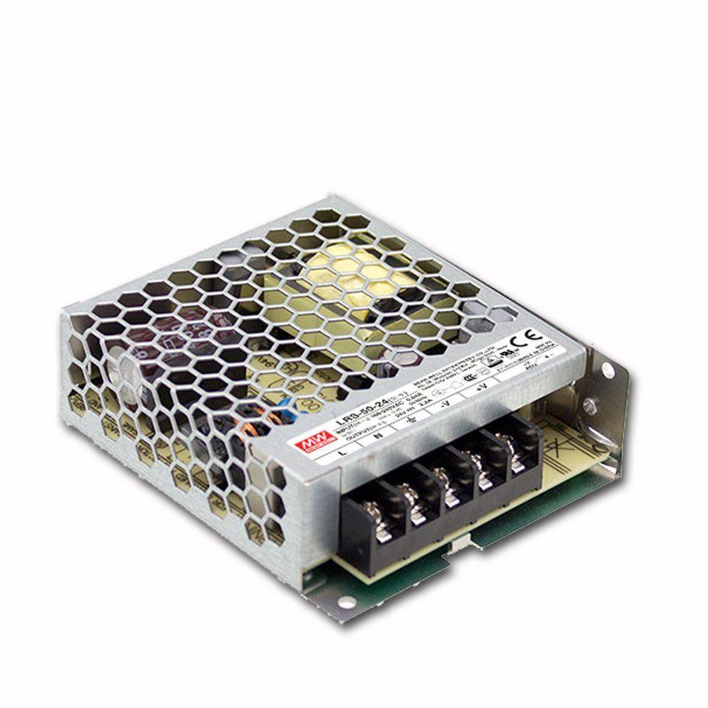 """Блок питания импульсный Mean Well 50W 24V (IP20, 2,2A) Series """"LRS"""""""