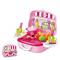 Детский игровой набор кухня в кейсе