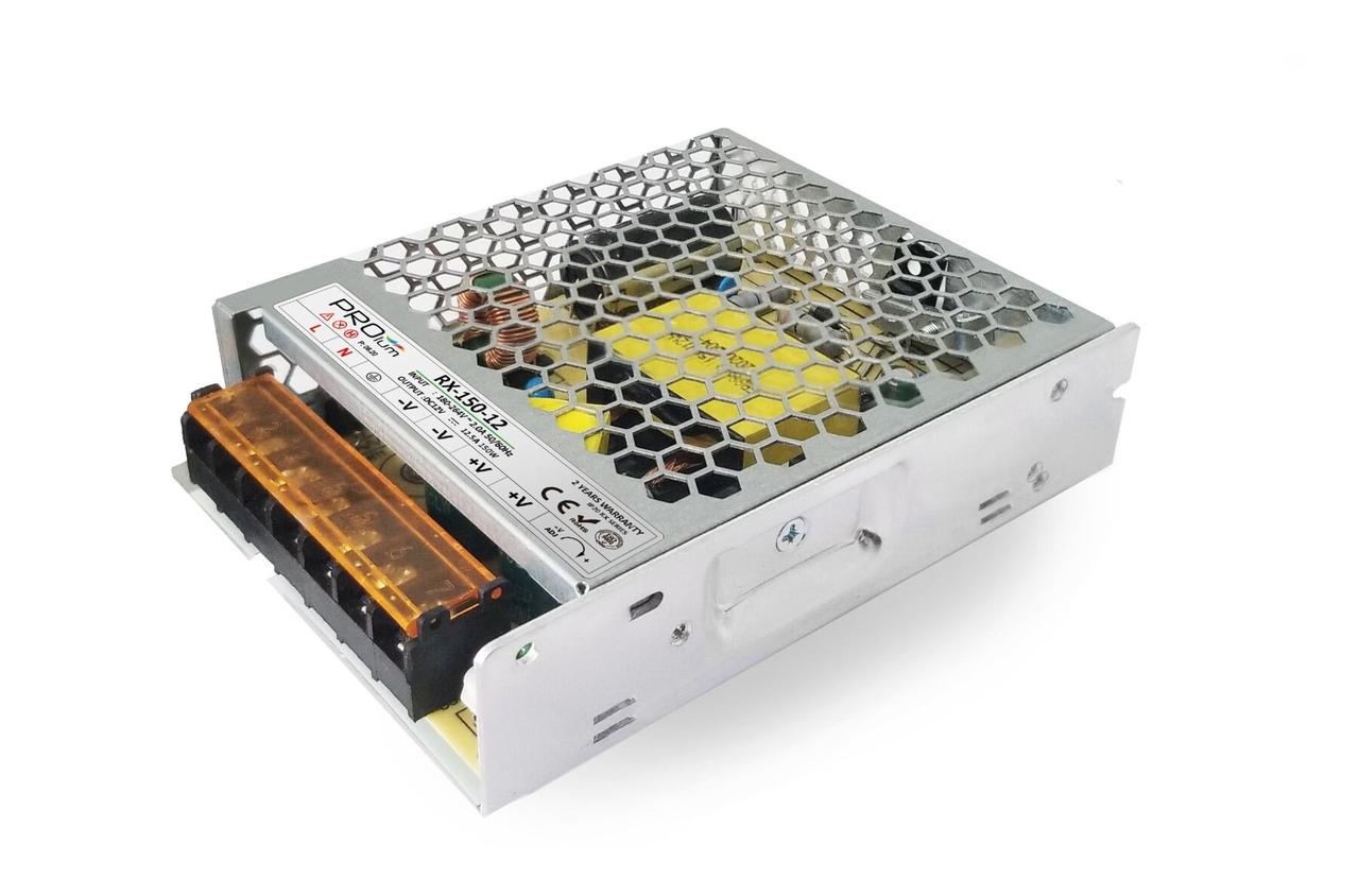 """Блок питания импульсный PROLUM 150W 24V (IP20; 6,25A) - Series """"RX"""""""
