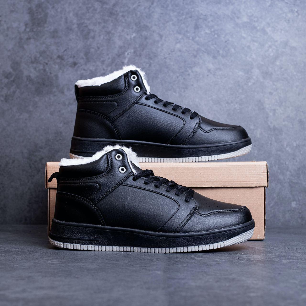 Мужские ботинки Стилли форс хай Pobedov (черные) 41