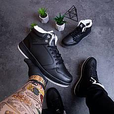 Мужские ботинки Стилли форс хай Pobedov (черные) 41, фото 2