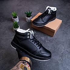 Мужские ботинки Стилли форс хай Pobedov (черные) 41, фото 3