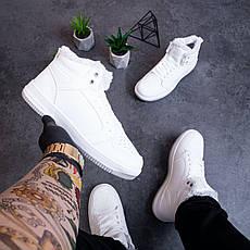 Мужские ботинки Стилли форс хай Pobedov (белые), фото 3