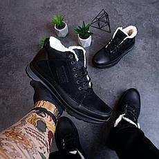 Мужские ботинки Ган Мен Pobedov (черные) 40, фото 3