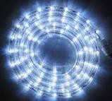 Гирлянда диодная Дюралайт Белый  Шланг 10 метров, фото 5