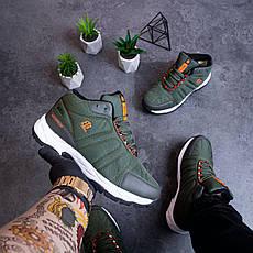 Мужские ботинки Булл Ватерпруф Pobedov (зеленые), фото 2