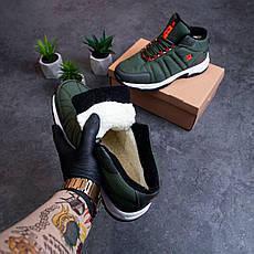 Мужские ботинки Булл Ватерпруф Pobedov (зеленые), фото 3
