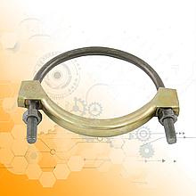Хомут глушника Зіл/Газ/Камаз діаметр 58-66.