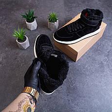 Мужские ботинки Стилли Белт Pobedov (черные с белой подошвой) 41, фото 2