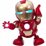 Танцующий робот | Интерактивная игрушка IRON MAN | Танцующий железный человек, фото 5