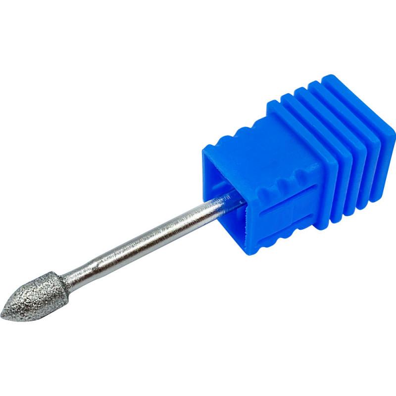 Фурман Насадка для фрезера Алмазная пламевидная Синяя №10