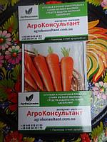 Семена моркови морковь Абако F1 (Seminis) 1 г — ранний гибрид (110 дней) с крупной фасовки