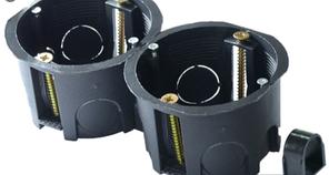 Коробка установочная наборная в гипсокартон (подрозетник) d60 mm