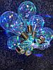 Гирлянда новогодняя стилизованная под лампочки накаливания 75 LED лампочек 2,5 метра микс, фото 2