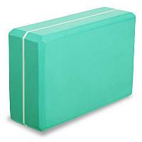 Блок для йоги двоколірний FI-1714, кольори в асортименті