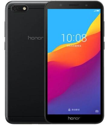 "Смартфон Huawei Honor 7 Play 2/32Gb Black, 13/5Мп, 5.45"" IPS, 2SIM, 4G, 3020мА, MT6739, 4 ядер"