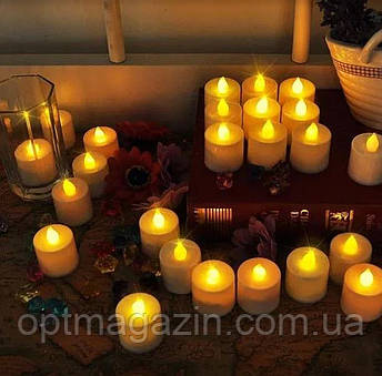 Свічки електронні світлодіодні, фото 2