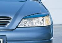 Реснички Opel Astra G, накладки на фары Опель Астра Г, фото 1