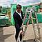 Лестница шарнирная трансформер четырехсекционная алюминиевая, фото 5